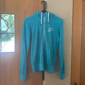 Nike small zip up